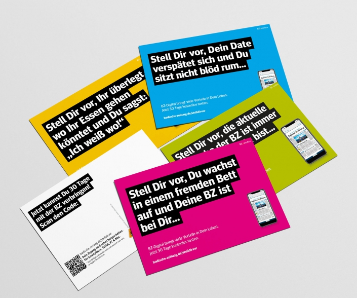 Vertriebs Kampagne: Freecards Edgarcards