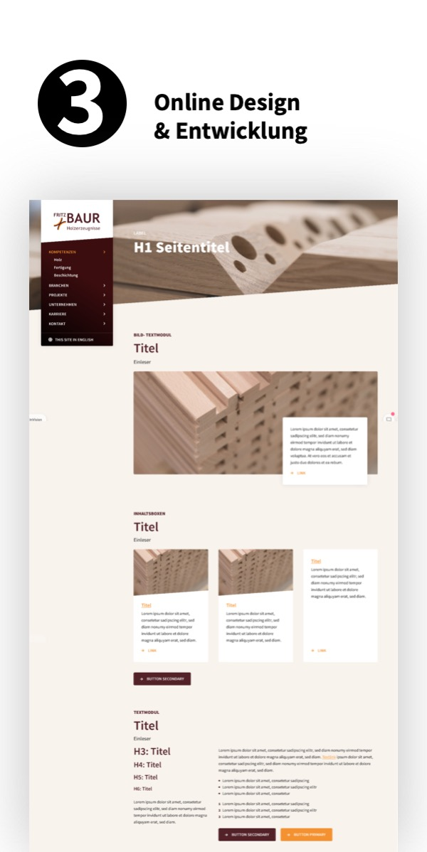 Website-Relaunch mit Online-Design