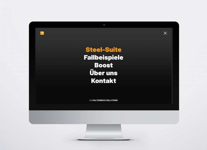 Webseite Steel-Suite