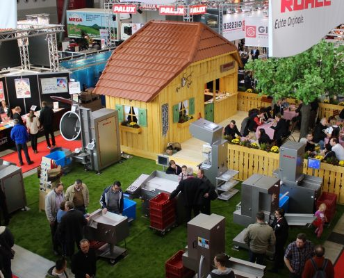 Messestand Konzeption mit Sightseeing Charakter