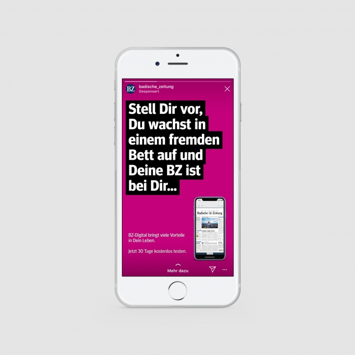 Vertriebs Kampagne: Social Media Ads