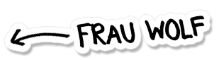 Frau Wolf Handwriting